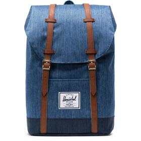 Herschel Retreat Backpack 19,5l faded denim/indigo denim